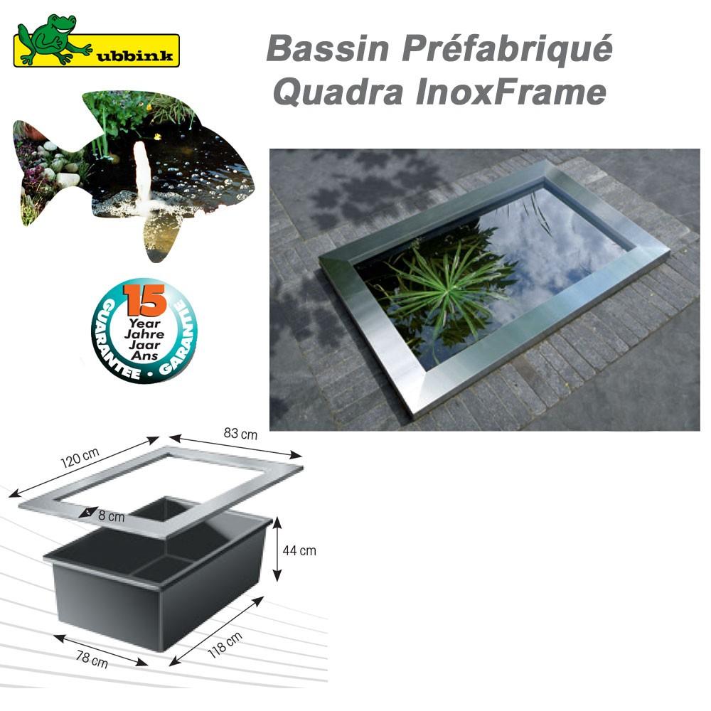 Bassin De Jardin Preforme Quadra avec Bassin De Jardin Préformé