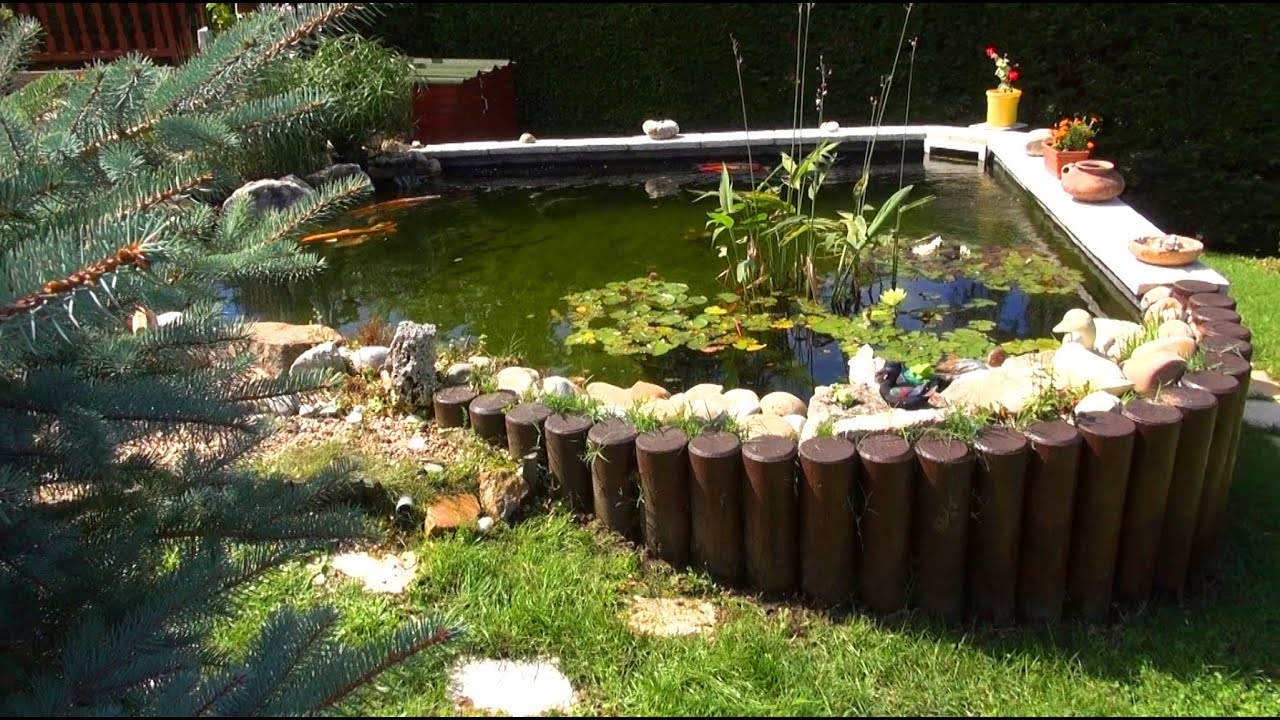 Bassin De Jardin Semi-Enterre encequiconcerne Bassin De Jardin Préformé Grande Taille