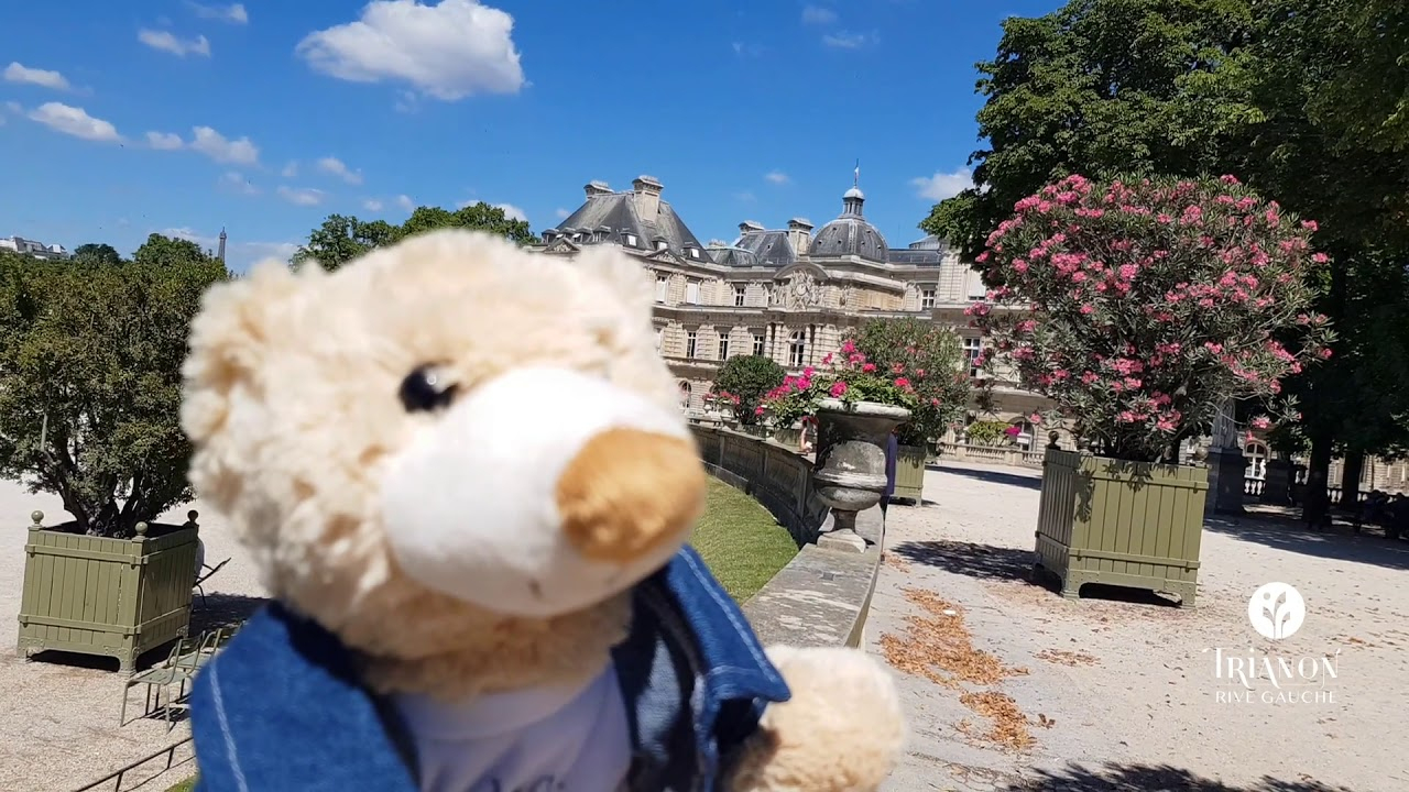 Beautiful Sunny Day With Max At Jardin Du Luxembourg - Hotel Trianon Rive  Gauche destiné Hotel Jardin Du Luxembourg