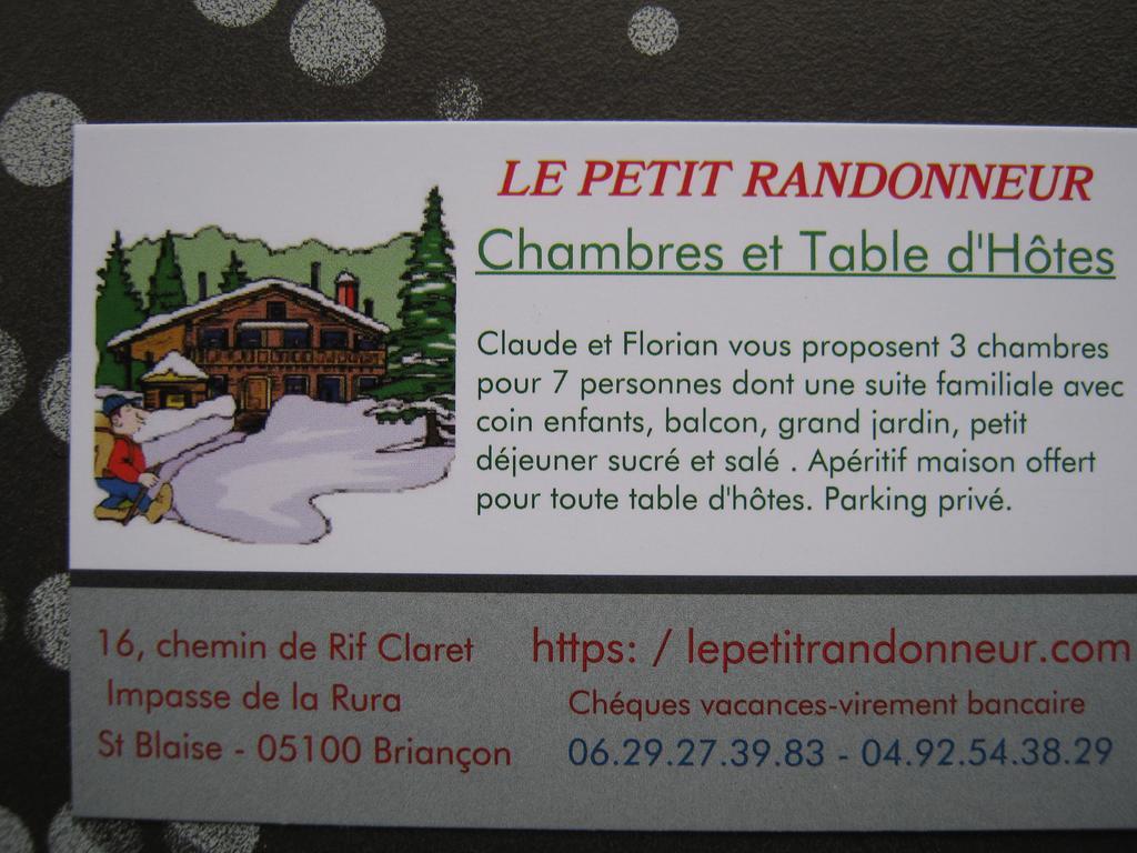 Bed And Breakfast Le Petit Randonneur, Briançon, France ... destiné Le Bon Coin Serre De Jardin