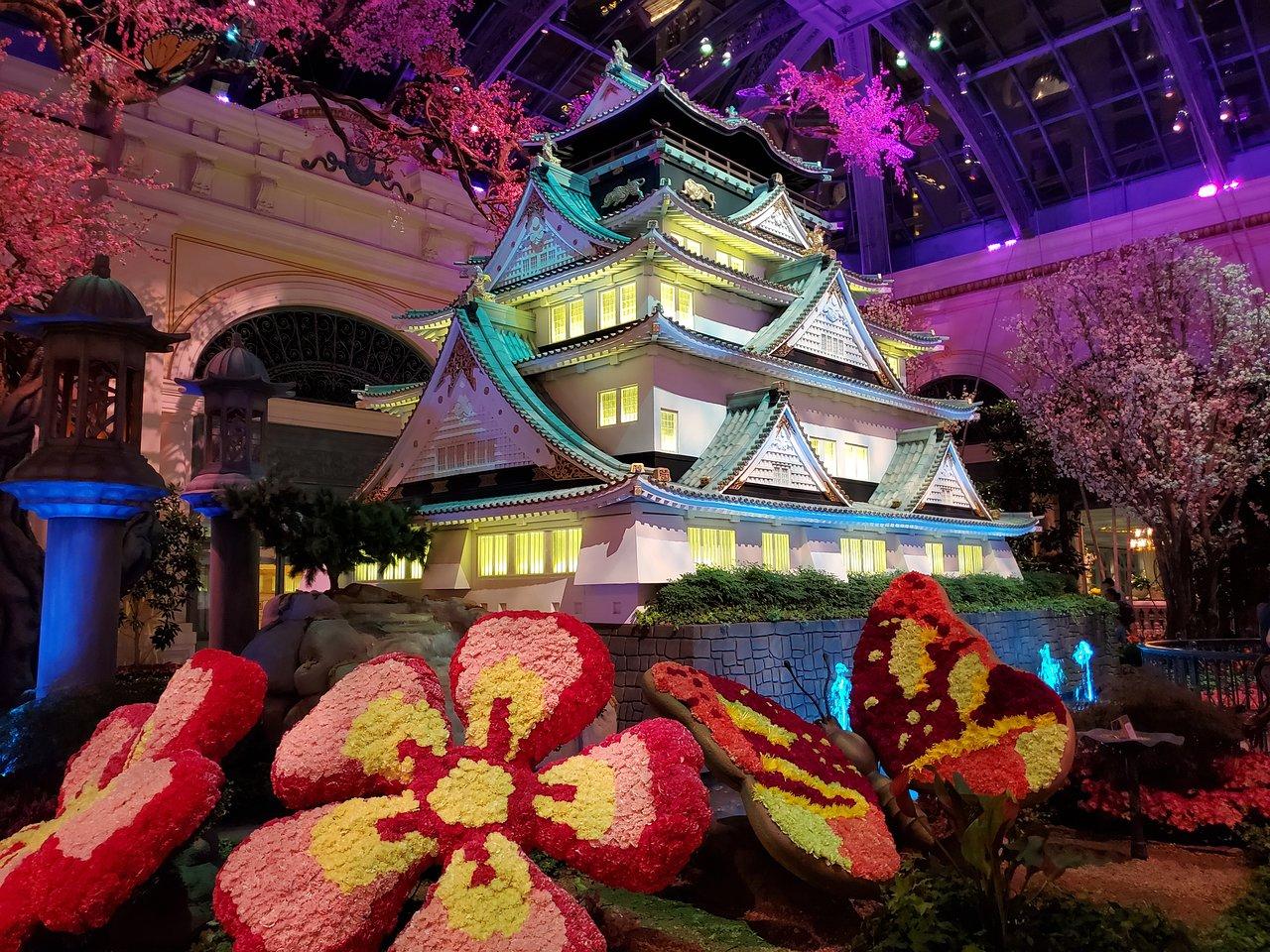 Bellagio Conservatory & Botanical Garden - Las Vegas ... concernant Salon De Jardin Nevada