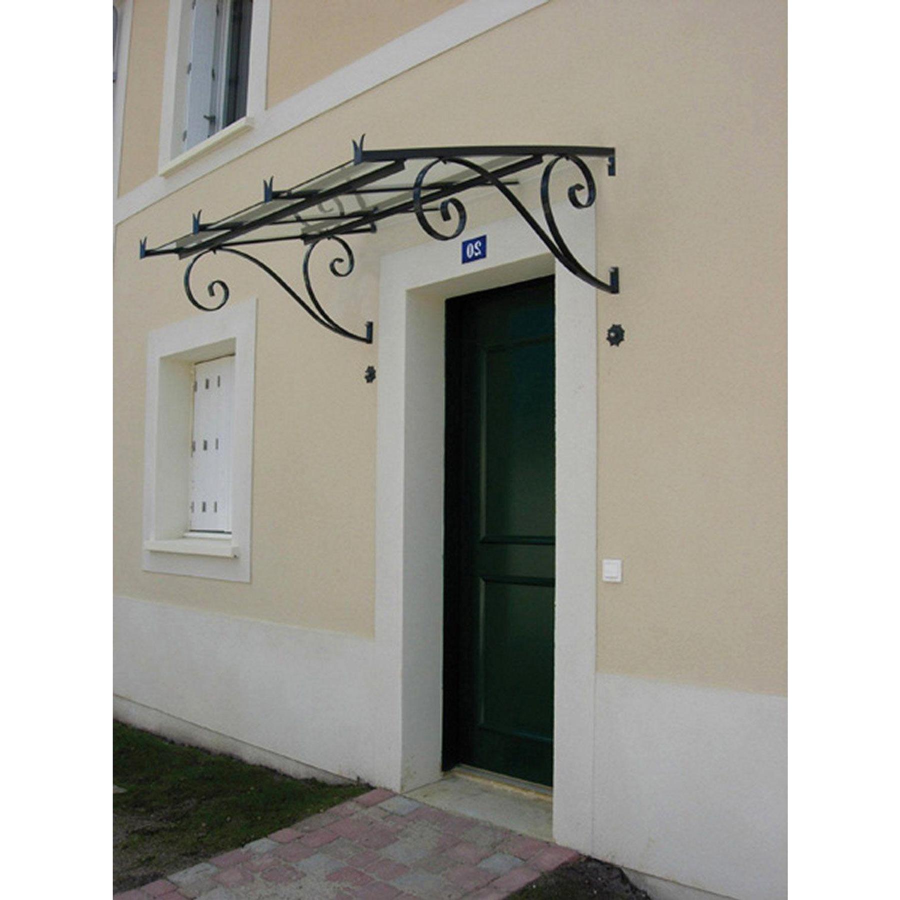 Bellhouse Coperture Auvent En Fer Ricciolo Classica P 90 H ... dedans Maison De Jardin Jouet