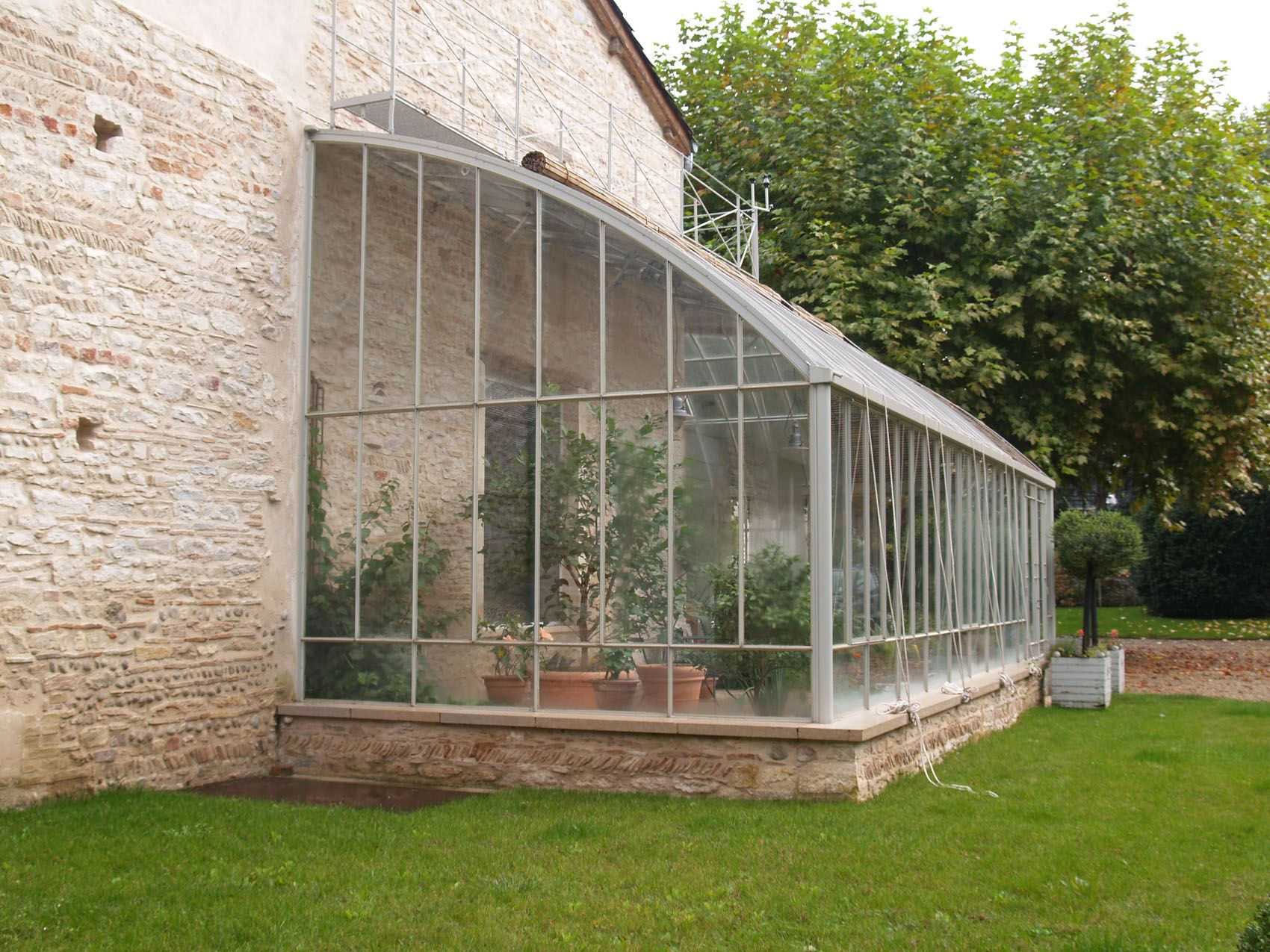 Best 25 Serre Adossã E Ideas On Pinterest Cabane Jardin La ... tout Serre De Jardin Occasion A Vendre