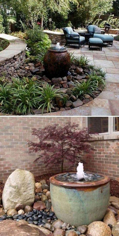 Best Minimalist Garden Design Ideas #minimalistgardendesign ... intérieur Idee Deco Jardin Gravier