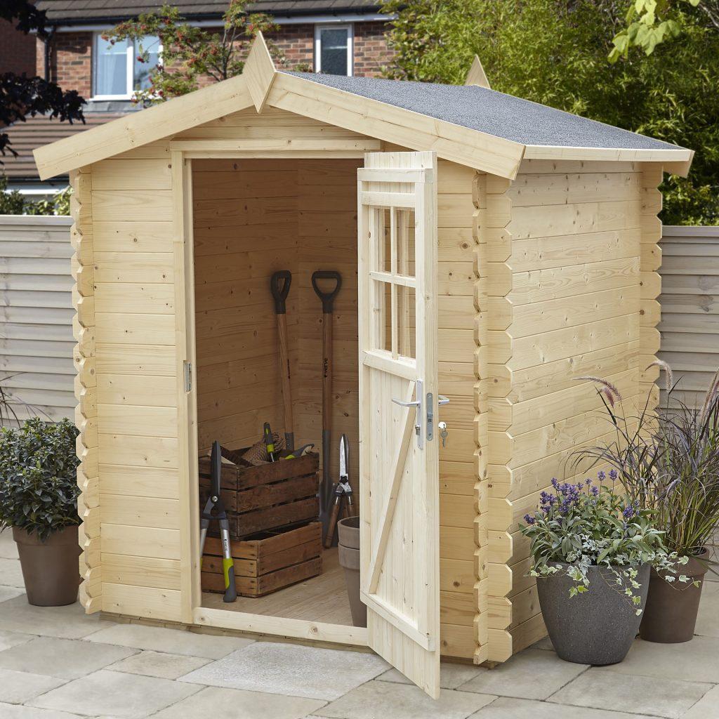 Bien Choisir Et Poser L'abri De Jardin Qui Nous Convient ... avec Abri De Jardin En Bois Castorama