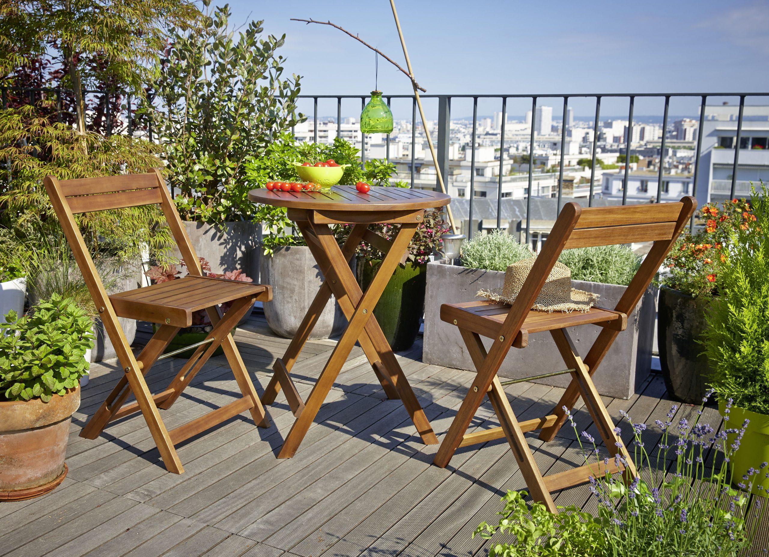 Bien Plus Qu'un Jardin | Mobilier Jardin, Table Ronde ... tout Table De Jardin Magasin Leclerc