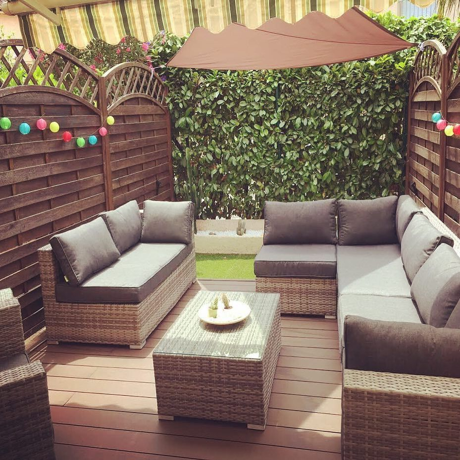 Big Garden, Or Compact And Bijou - Our Rattan Sofa Sets Can ... encequiconcerne Salon Jardin Alice Garden