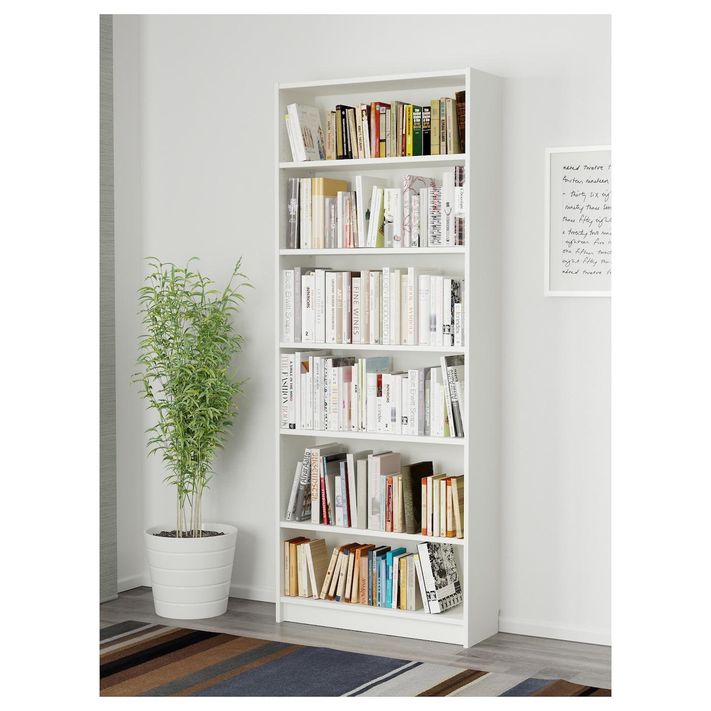 Billy Bibliothèque - Blanc 80X28X202 Cm concernant Ikea Meuble De Jardin