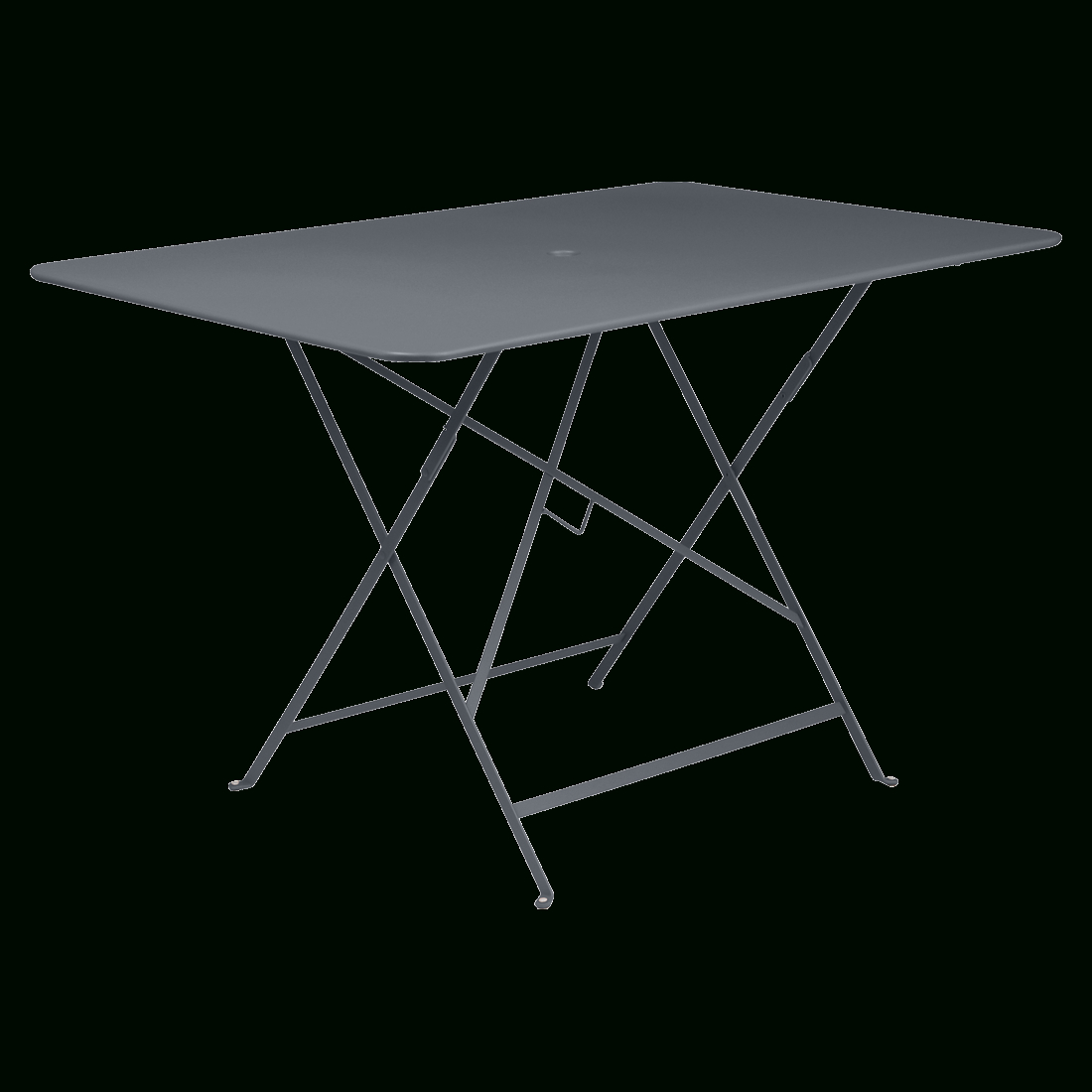 Bistro Table 117X77 Cm, Metal Table, Outdoor Furniture serapportantà Table De Jardin Metal Pliante