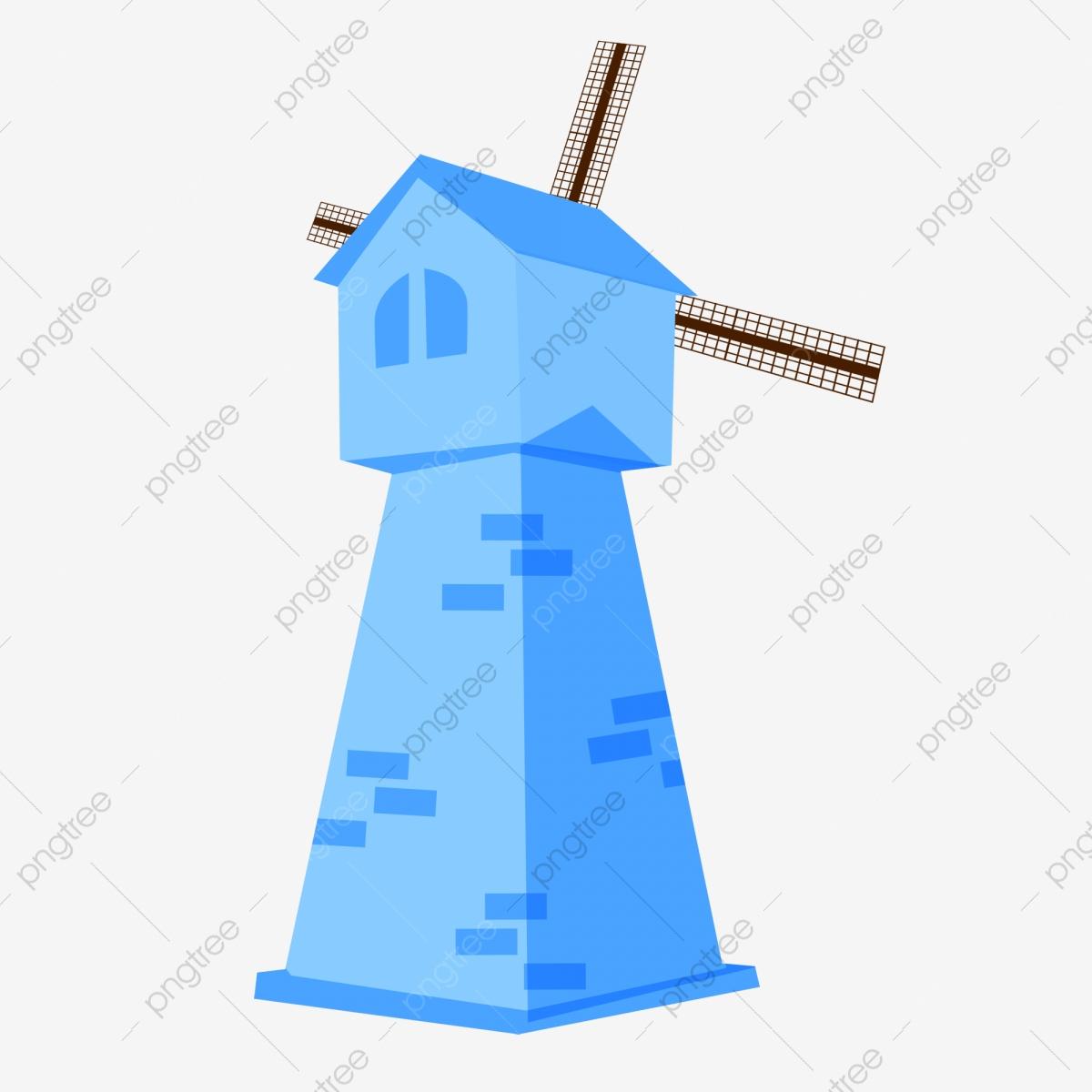 Bleu Moulin À Vent De Jardin Moulin À Vent Europe, La ... pour Moulin A Vent Pour Jardin