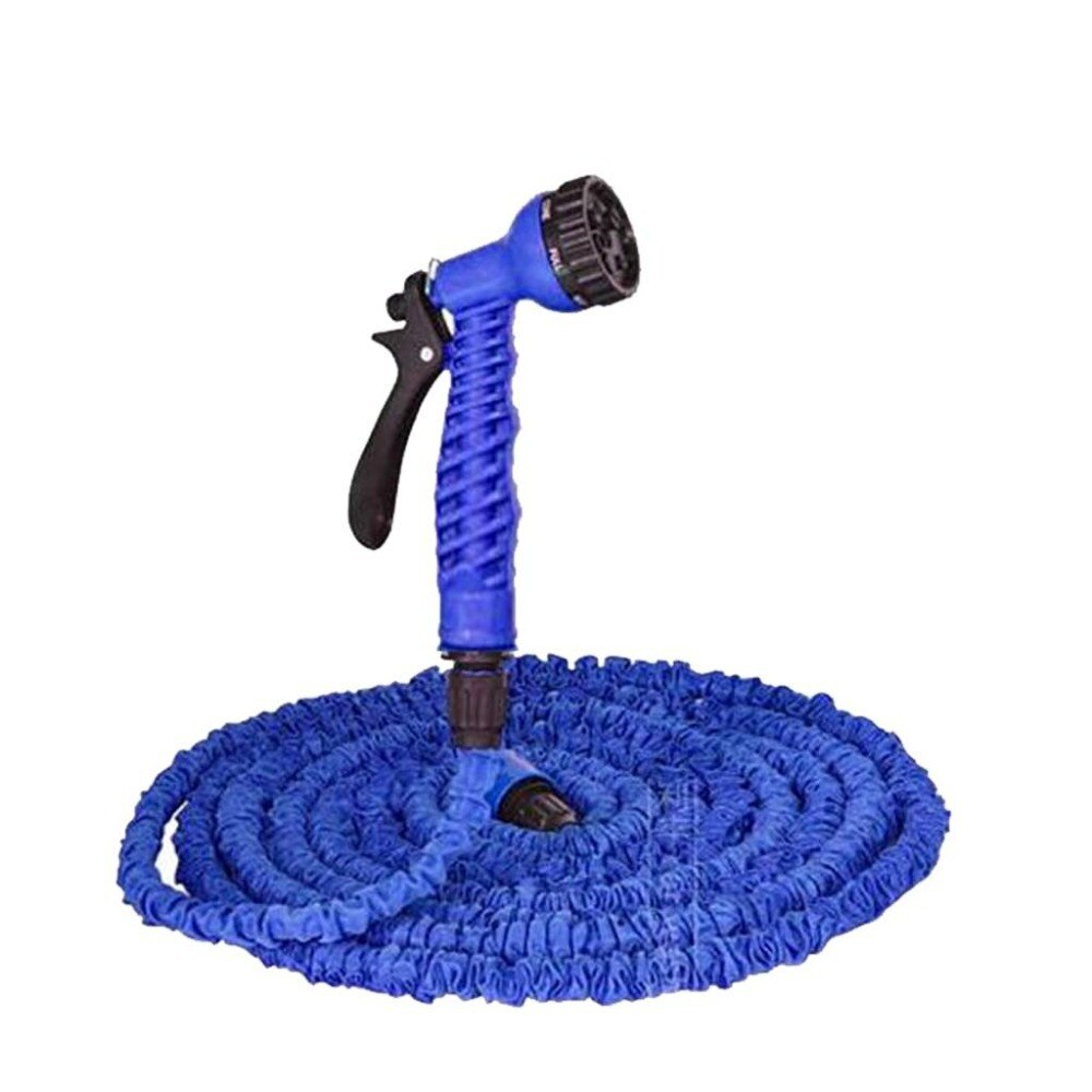 Bleu Tuyau Arrosage Emulsion Hose Extensible Retractable 15M ... à Tuyau Jardin Retractable