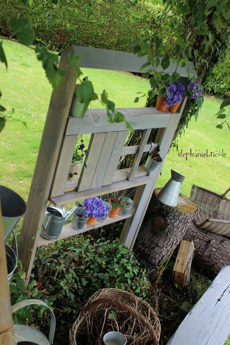 Blog Diy, Comment Faire Soi-Même Une Maison Étagère Pour ... à Astuce Deco Jardin Recup