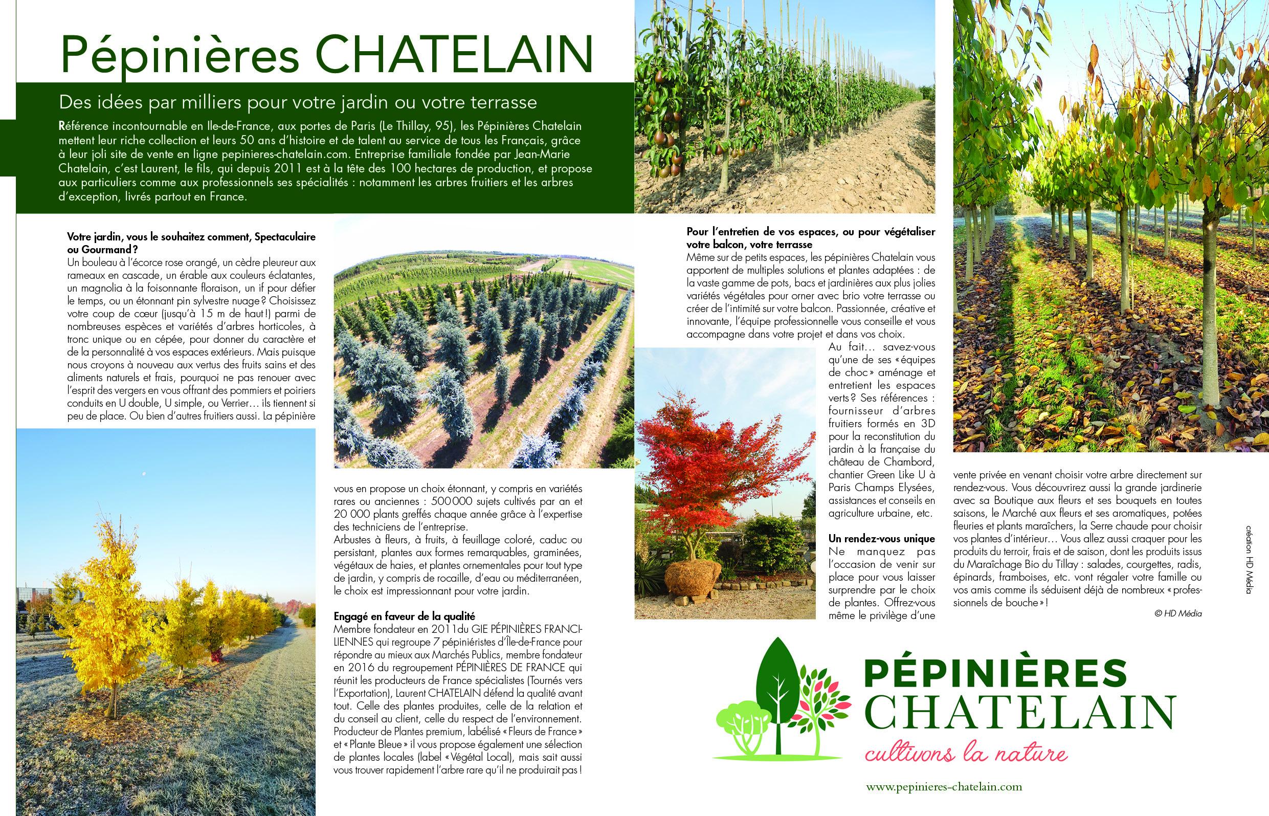 Blog - Les Pépinières Chatelain À L'honneur Dans Maison Et ... serapportantà Maisonnette Jardin Occasion