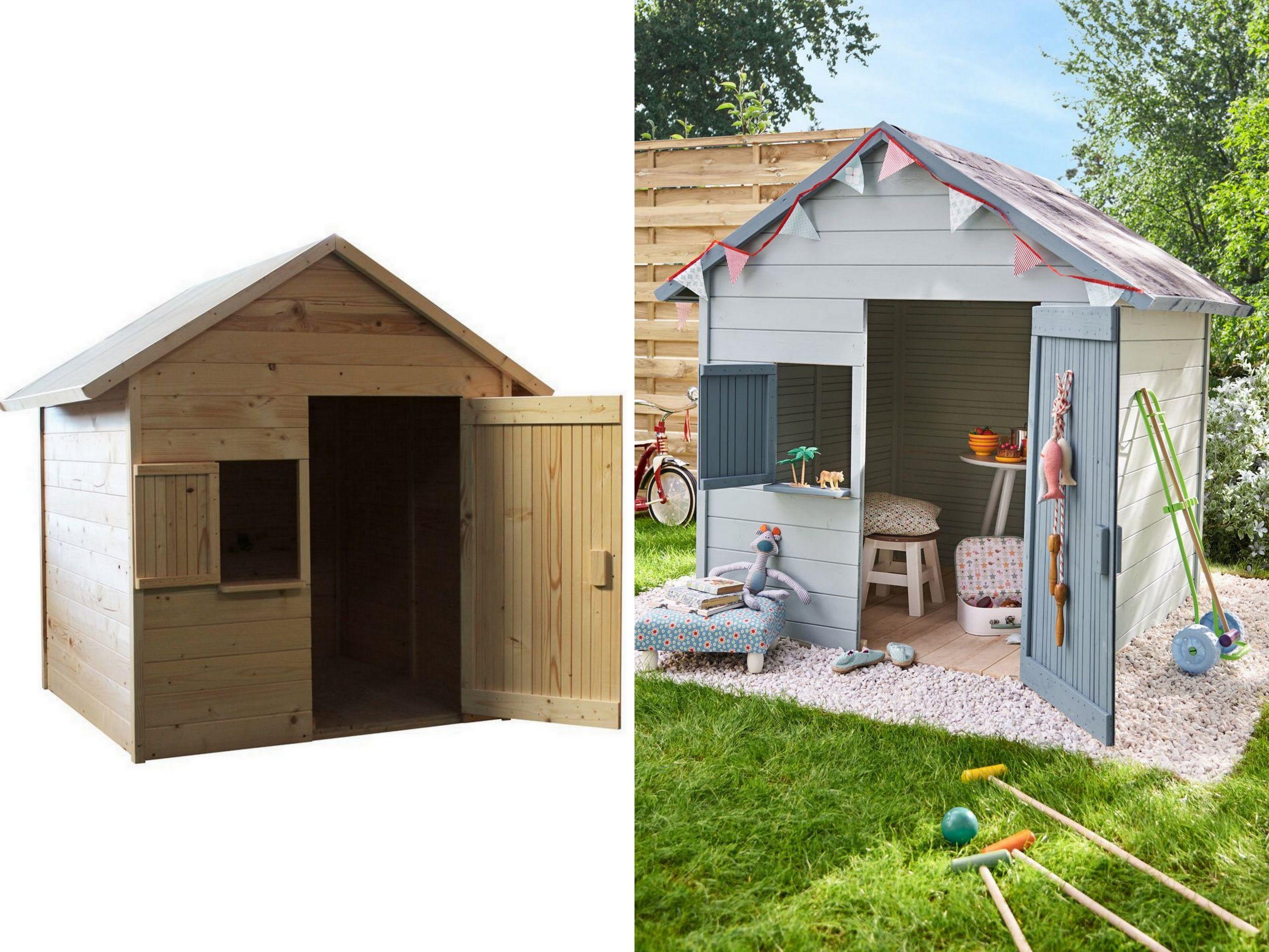 Bois Pour Cabane De Jardin Des Idées - Idees Conception Jardin destiné Maison De Jardin Pour Enfant