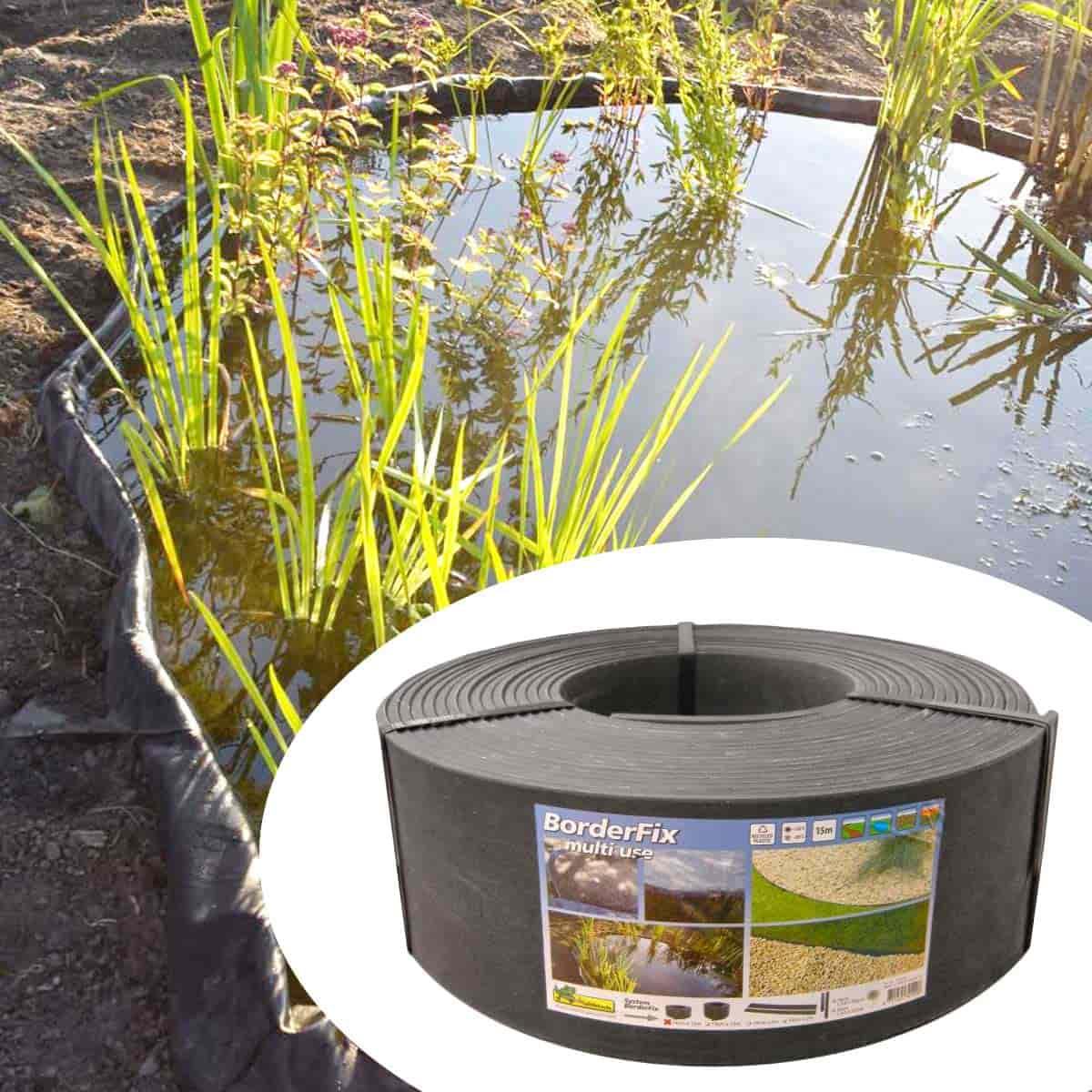 Bordure Bassin Etang Borderfix En Plastique Recyclé avec Prix D Un Bassin De Jardin