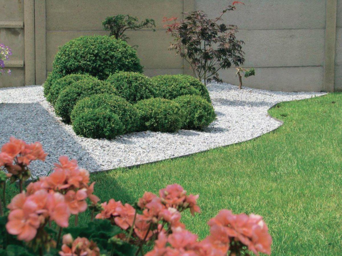 Bordure Composite Ecolat - 7X140 Mm Rouleau 25 M | Tuin ... concernant Bordure Jardin Zinc