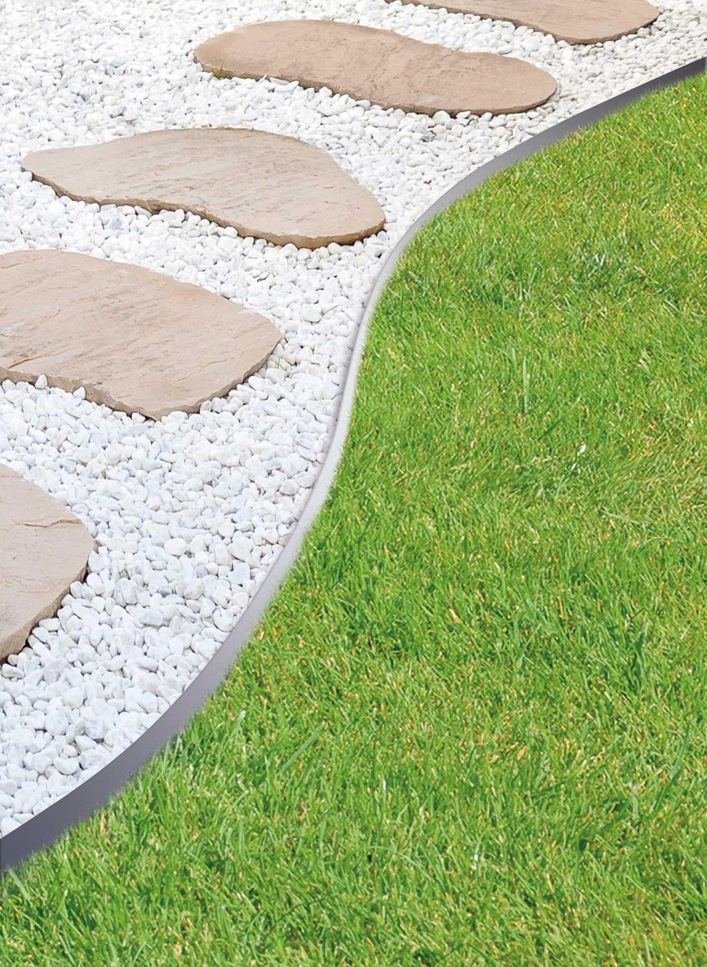 Bordure De Jardin En Acier Galvanisé Droite 118 X 0,065 X 13 ... pour Bordure Jardin Metal
