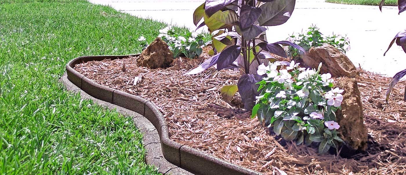 Bordure De Jardin En Pvc Heva Green 120 X 7,5 X 7,5 Cm pour Bordure De Jardin En Plastique