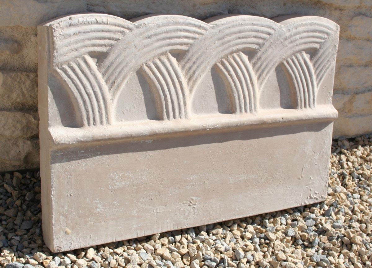 Bordure De Jardin Moulurée, Modèle Déco - .pierre-Alentour.fr avec Bordure De Jardin Beton