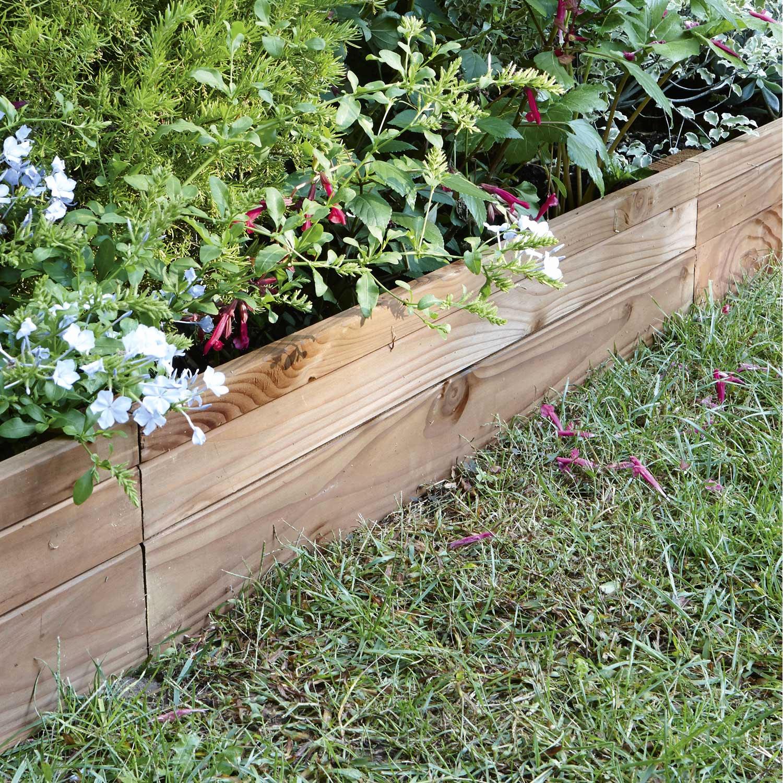 Bordure De Jardin Plastique Castorama Amazing Finest Gazon ... encequiconcerne Bordure De Jardin En Bois Pas Cher