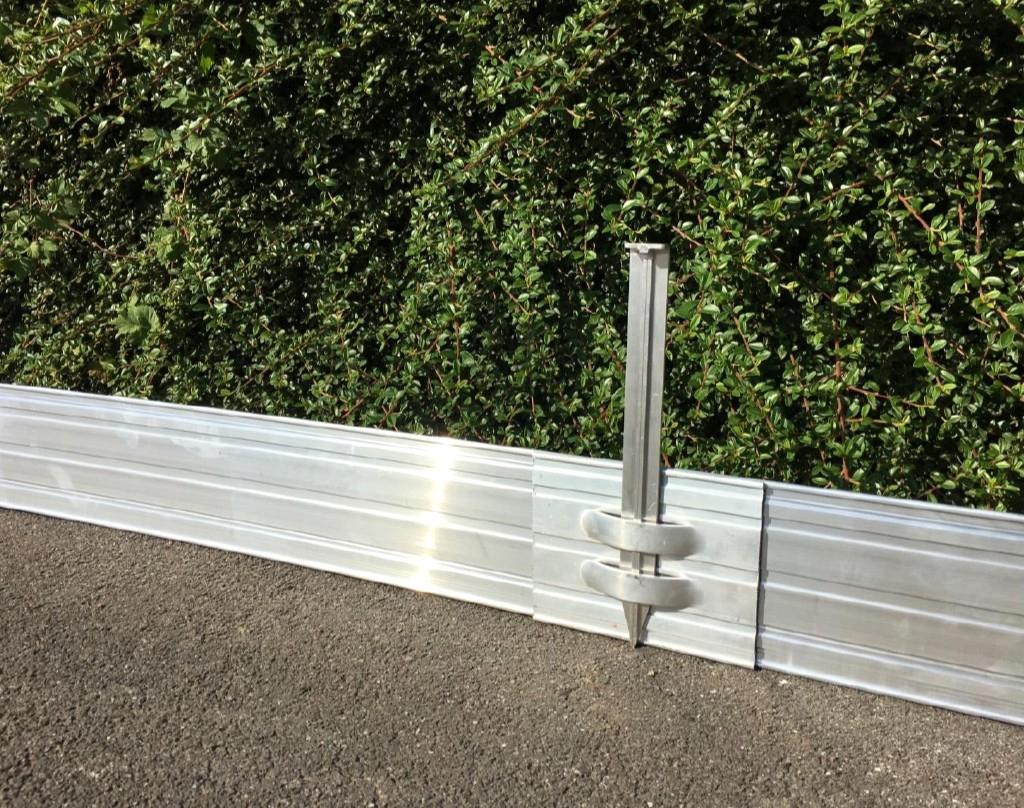 Bordure En Aluminium Pour Aménager Le Jardin concernant Bordure Aluminium Jardin