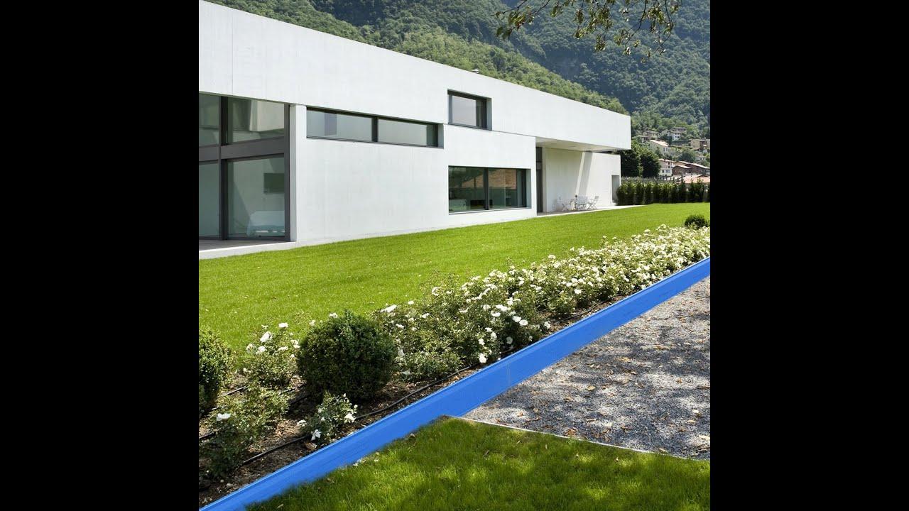 Bordure Jardin Aluminium Avec Eclairage Led - Apanages avec Bordure Aluminium Jardin