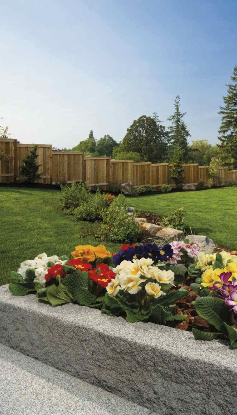 Bordure Jardin : Valoriser Votre Extérieur Avec Du Style avec Bordure De Jardin En Pierre
