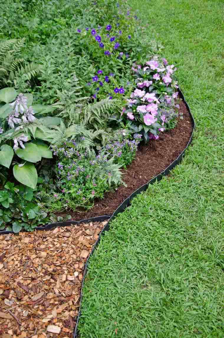Bordure Jardin : Valoriser Votre Extérieur Avec Du Style encequiconcerne Delimitation Jardin