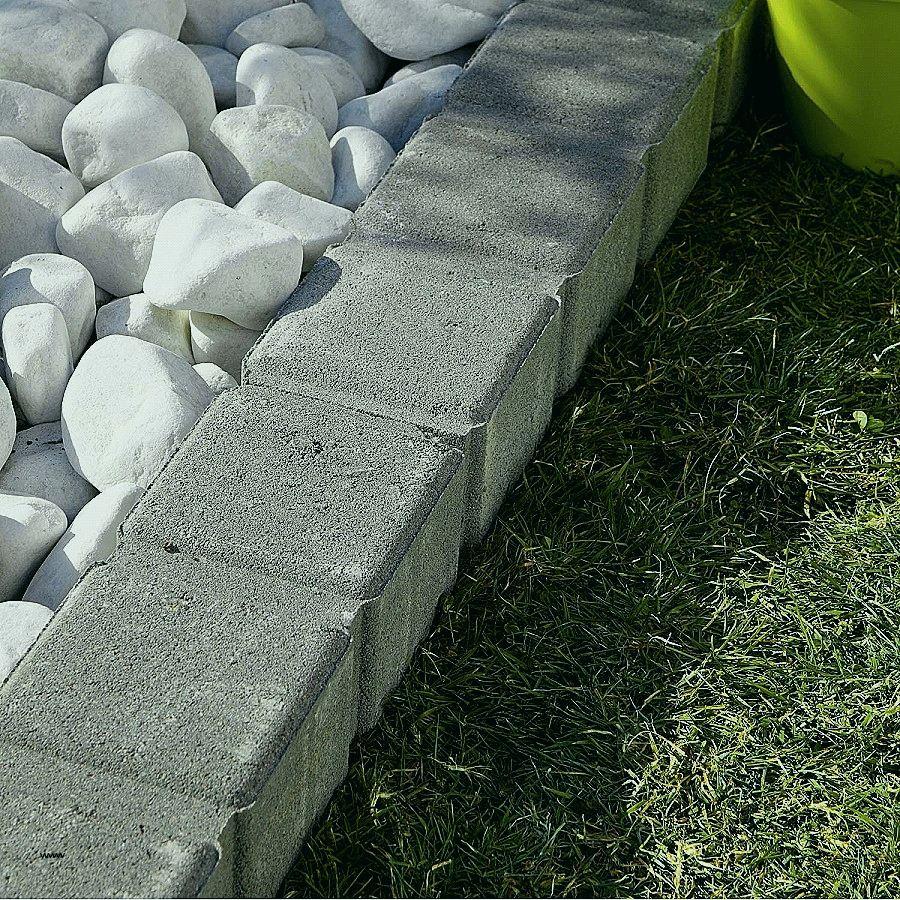Bordure Metal Jardin Castorama - Alkotla. concernant Bordure De Jardin Beton