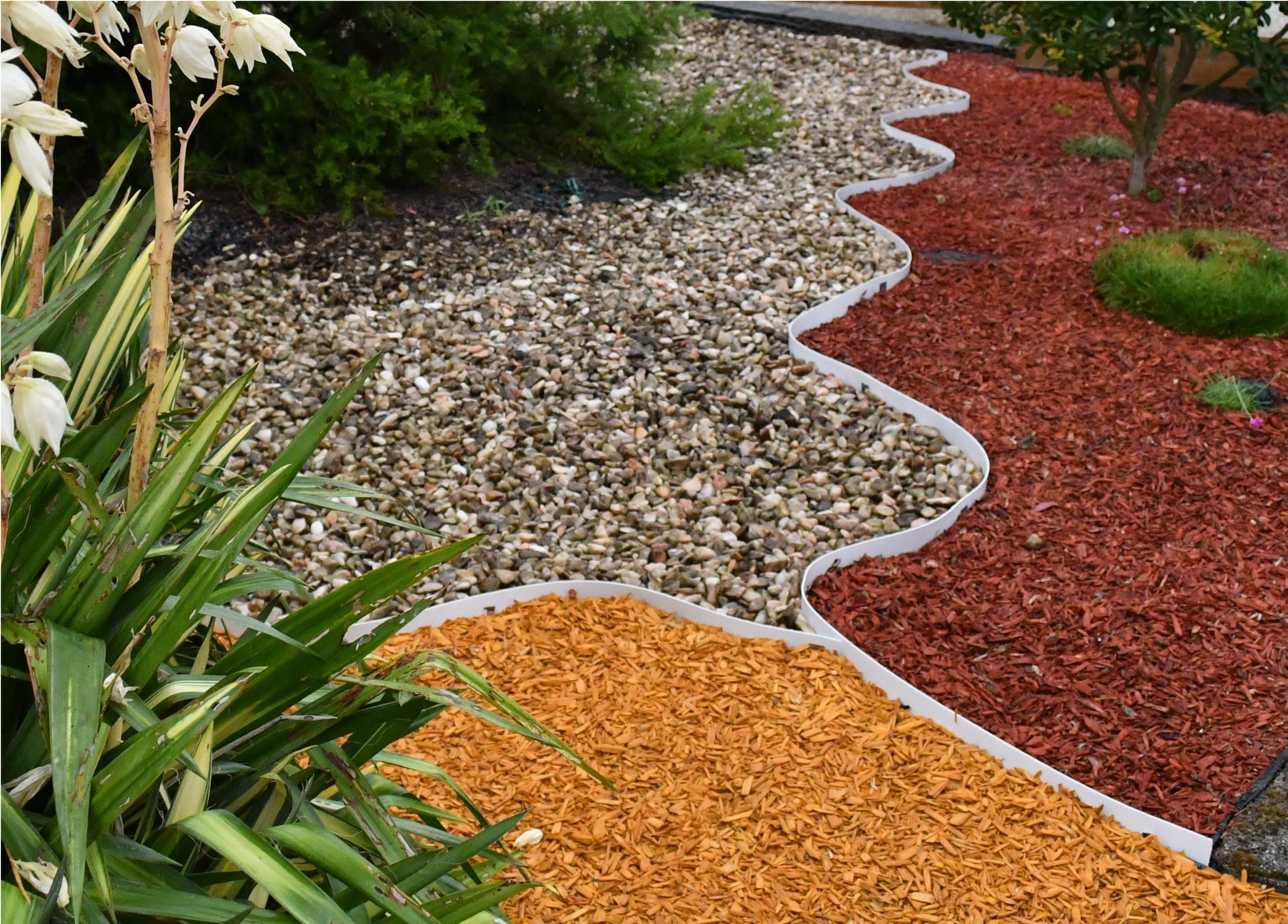 Bordure - Volige De Jardin En Pvc Recyclé Et Recyclable ... encequiconcerne Bordure Jardin Pvc