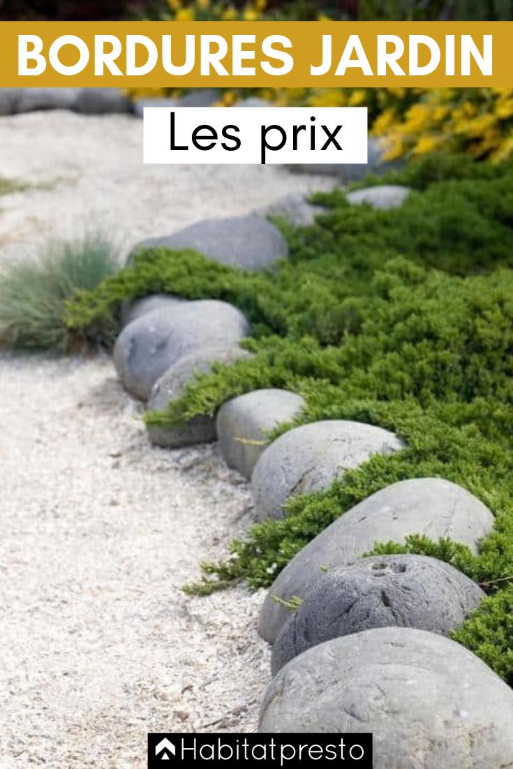 Bordures De Jardin : Créer Des Zones Bien Délimitées ... dedans Bordure De Jardin Beton