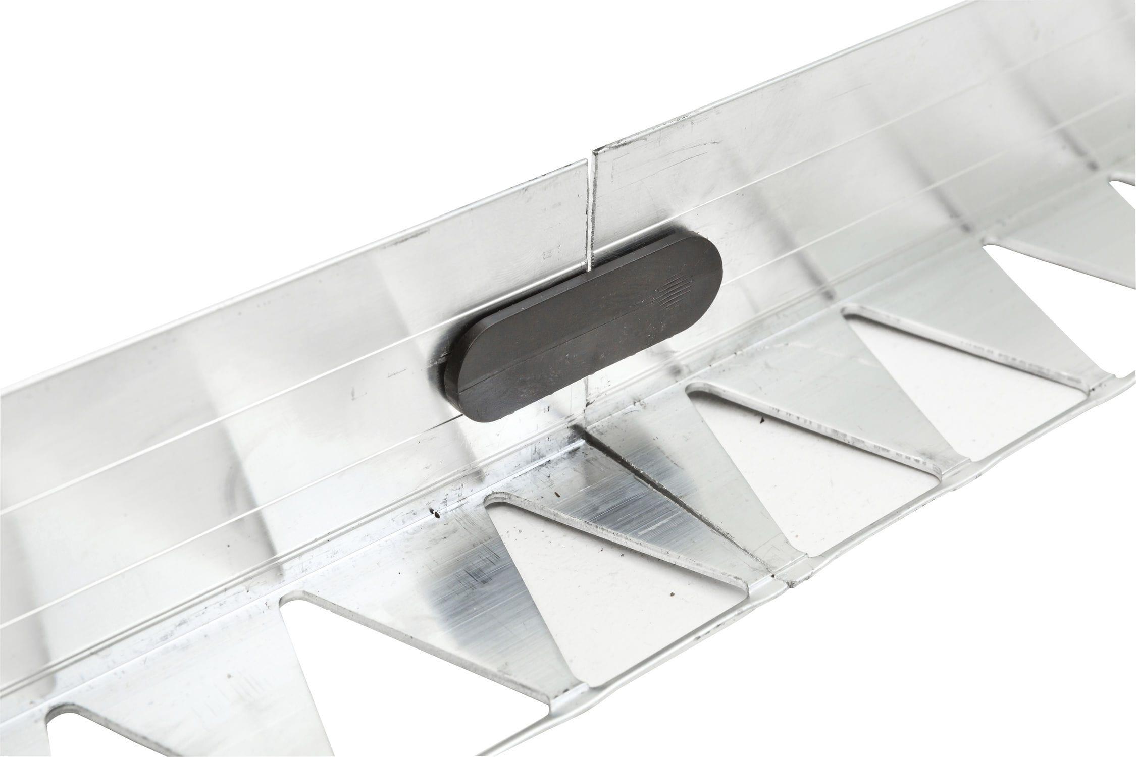 Bordurette De Jardin / Pour Aire De Jeux / En Aluminium / Droite dedans Bordure Aluminium Jardin