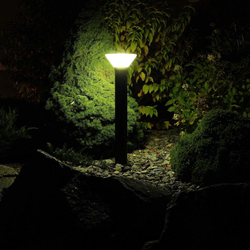 Borne Solaire Puissante Orlando 80Cm - 280 Lumens dedans Pile Pour Lampe Solaire De Jardin