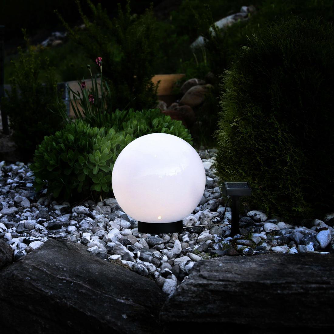 Boule Jardin Lumineuse : Quelques Critères Pour Bien La Choisir avec Boule Lumineuse Jardin