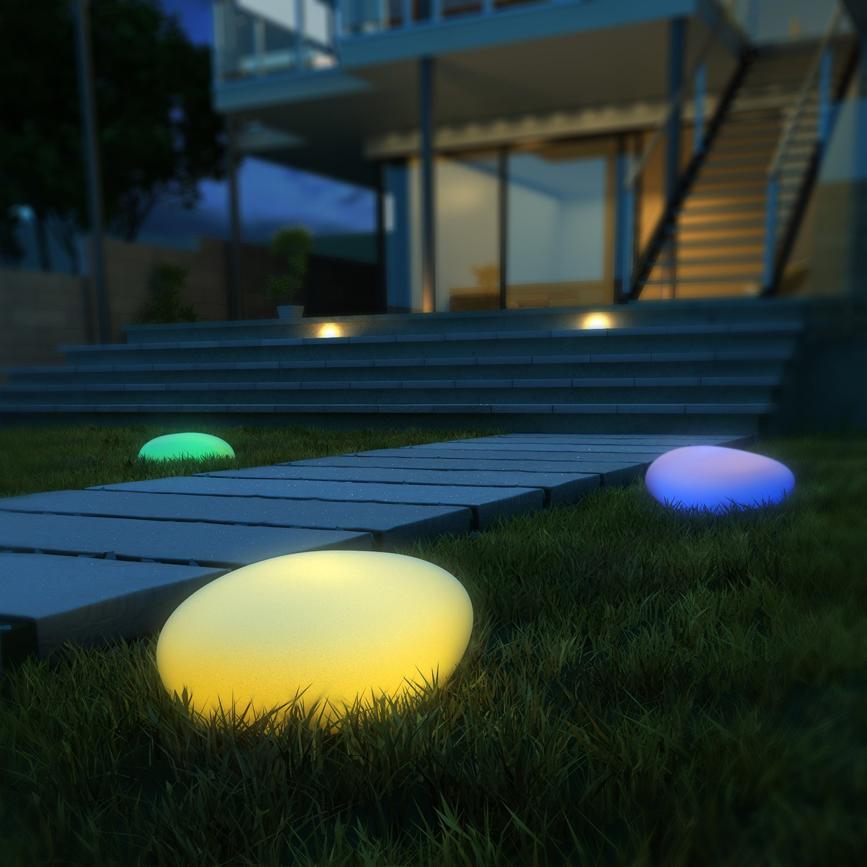 Boule Lumineuse Extérieur : Quel Accessoire Choisir ? serapportantà Boules Lumineuses Jardin
