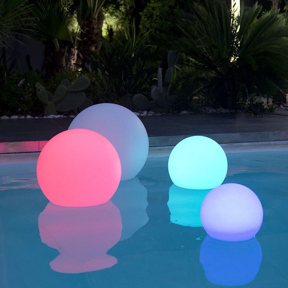 Boule Lumineuse Multicolore Lumisky Bobby C40 tout Boule Lumineuse Jardin