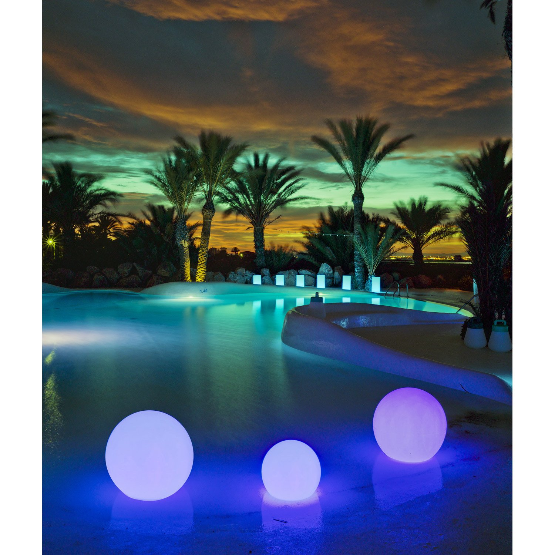 Boule Lumineuse : Quels Sont Mes Conseils Pour Aménager Et ... avec Boule Lumineuse Jardin