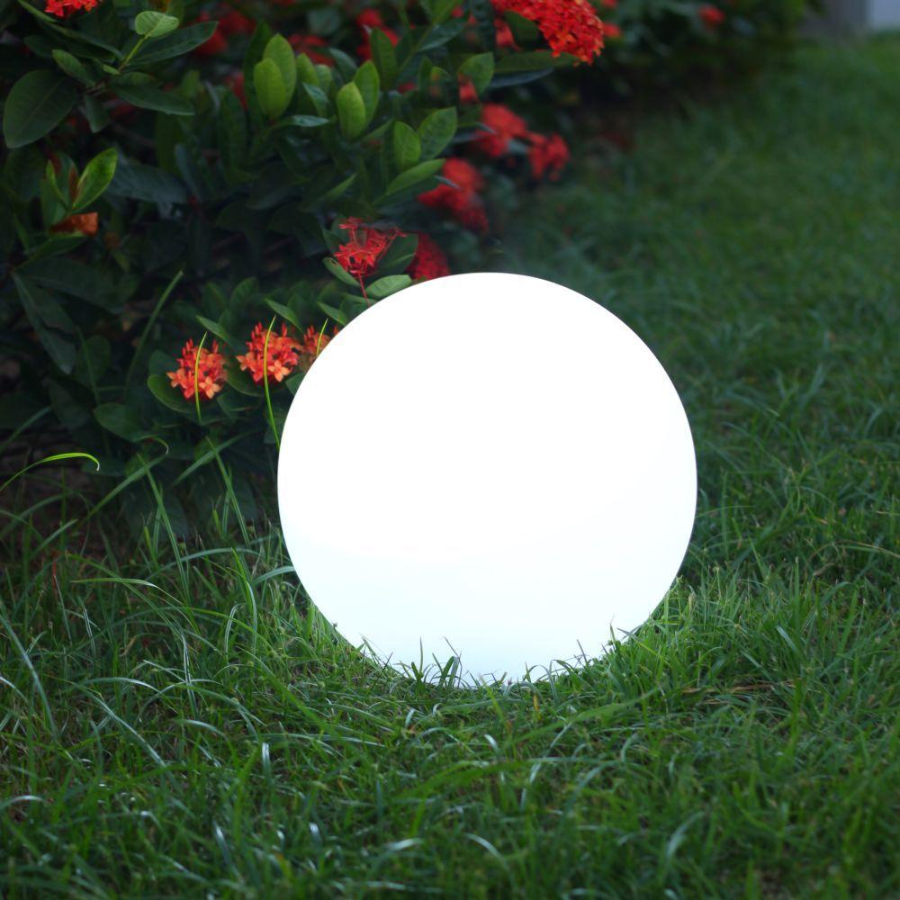 Boule Lumineuse Solaire Lumisky Solsty C30 Multicolore ... tout Sphere Lumineuse Jardin