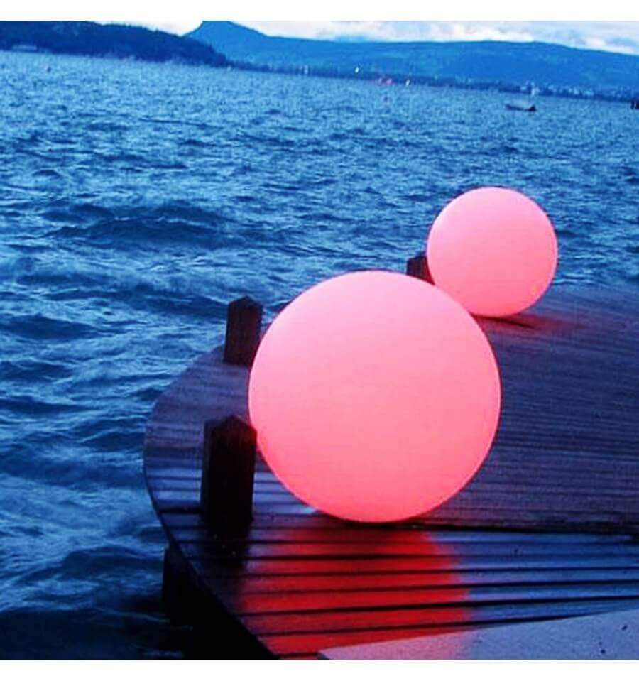 Boule Lumineuse Waterproof Multicolore À Énergie Solaire - Sun dedans Boules Lumineuses Jardin