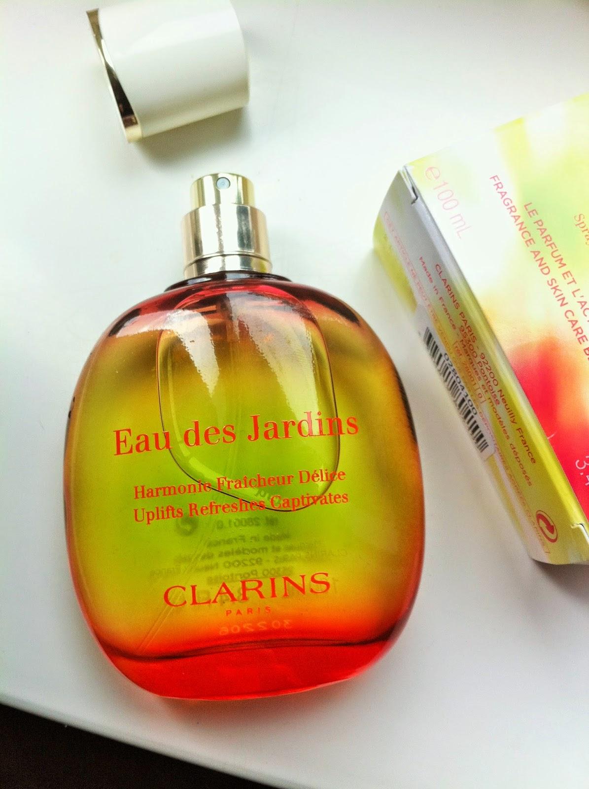 Bows And Pearls: Review | Clarins Eau Des Jardins* à Eau De Jardin Clarins