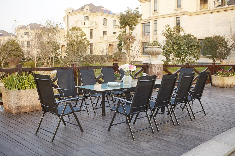 Brescia 10 serapportantà Table De Jardin Extensible Pas Cher