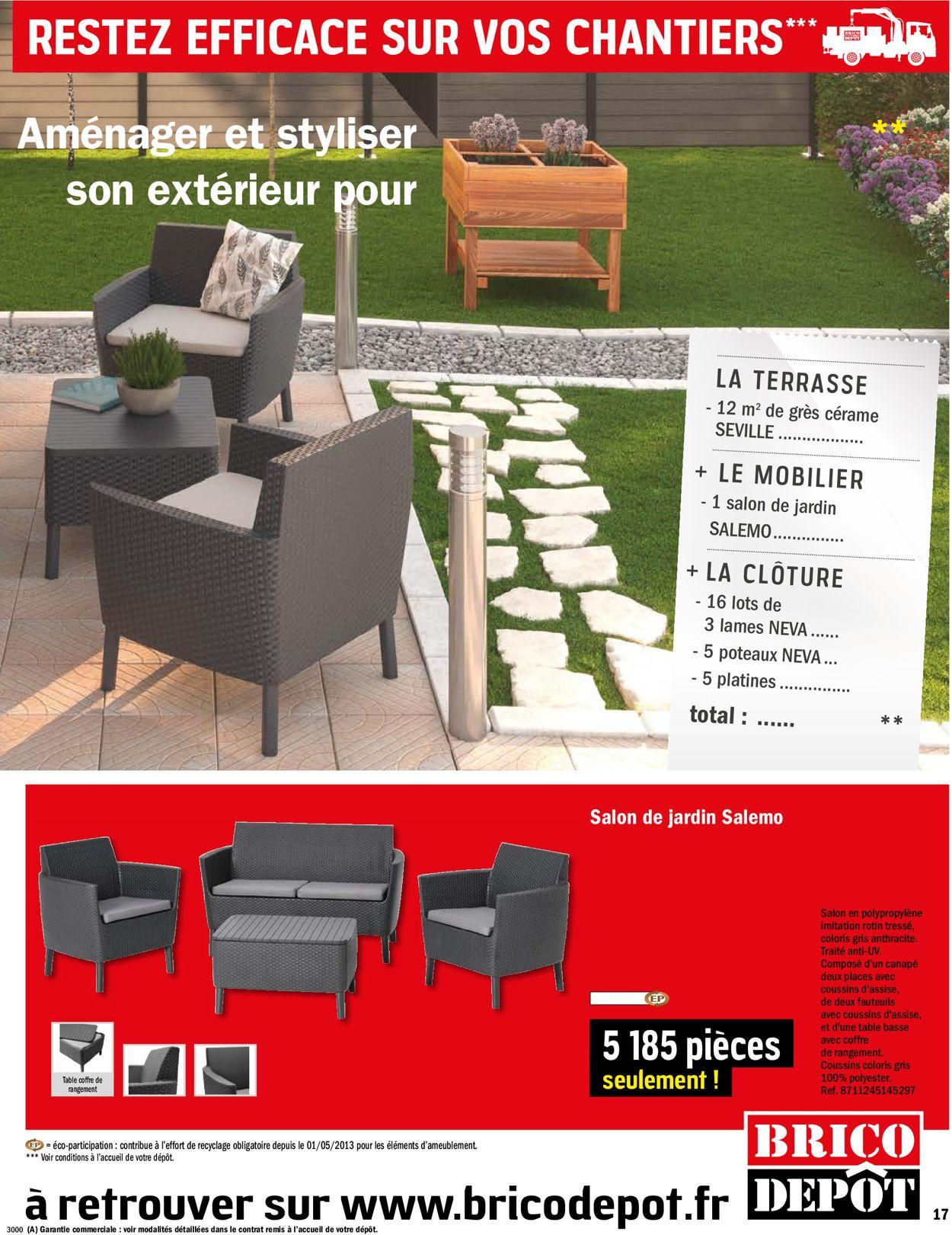 Brico Dépôt Catalogue Actuel 06.03 - 26.03.2020 [17 ... intérieur Mobilier Jardin Brico Depot