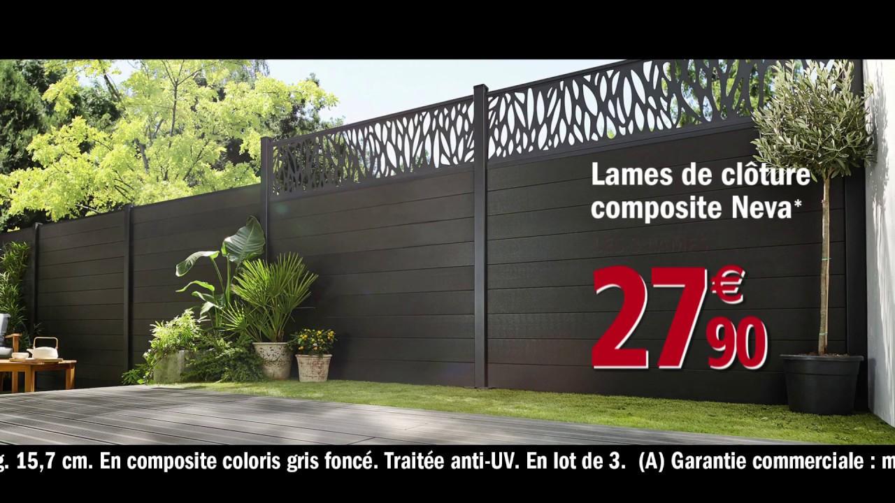 Brico Depot Jardin Cloture - Canalcncarauca concernant Cloturer Un Jardin