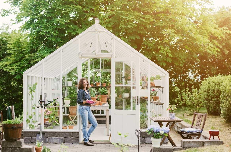 Bricolage En Janvier : Créer Une Serre Au Jardin - Bricofamily pour Serre De Jardin Bricomarché