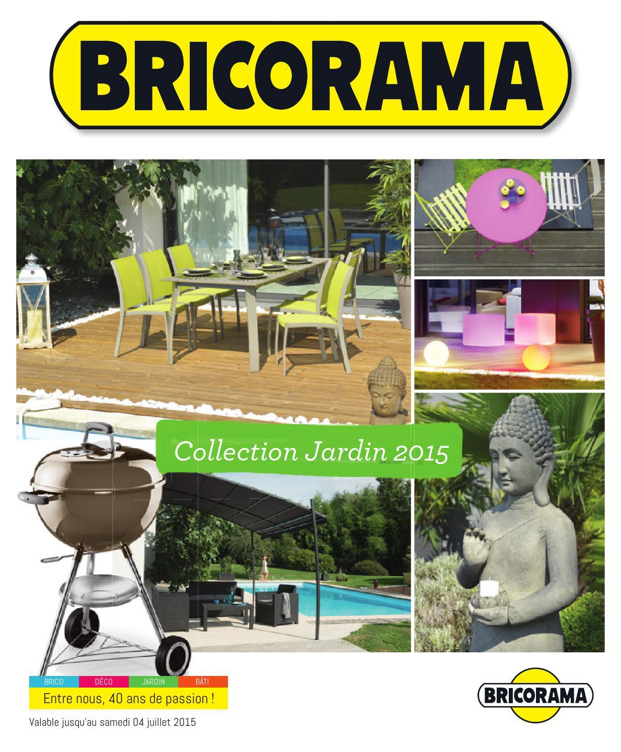 Bricorama Catalogue 23Mars 4Juillet2015 By Promocatalogues ... pour Abri De Jardin Bricorama