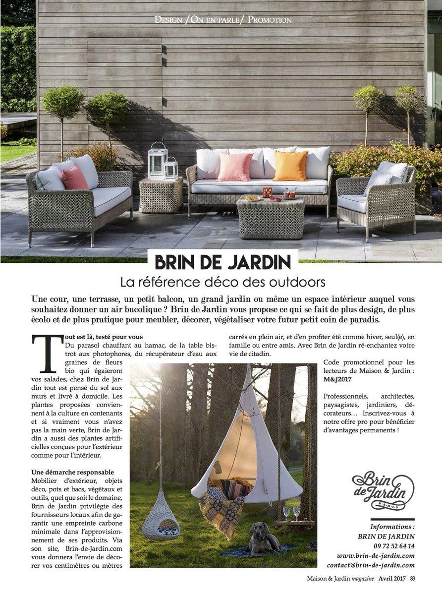 """Brin De Jardin On Twitter: """"retrouvez L'article Sur Brin ... encequiconcerne Salon De Jardin Pour Balcon"""