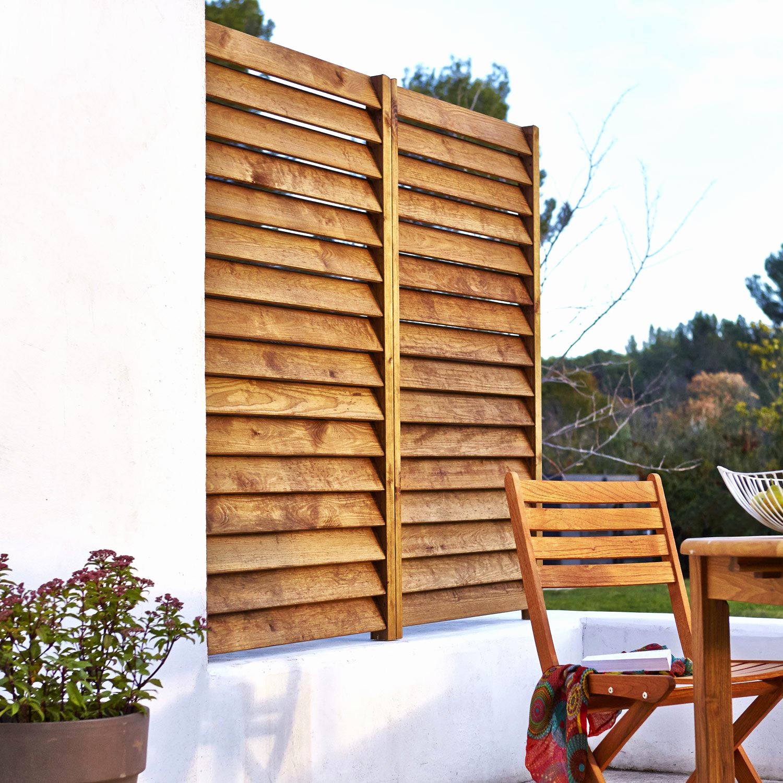 Brise Vue Balcon Castorama Affordable Claustra Jardin En ... pour Paravent De Jardin
