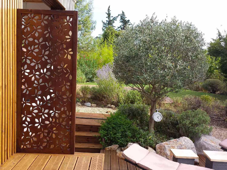 Brise Vue Design Pour Un Jardin : Pensez Au Bois ! intérieur Pare Vue Jardin