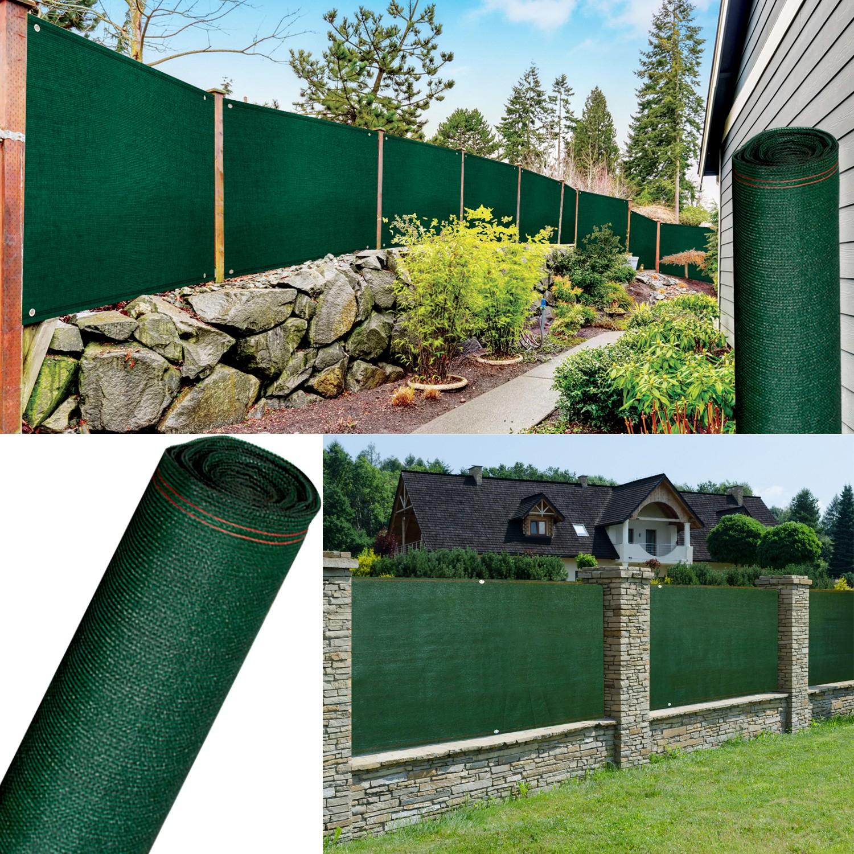 Brise Vue Renforcé 1,5 X 10 M Vert 220 Gr/m² Luxe Pro Probache dedans Brise Vue Jardin Pas Cher