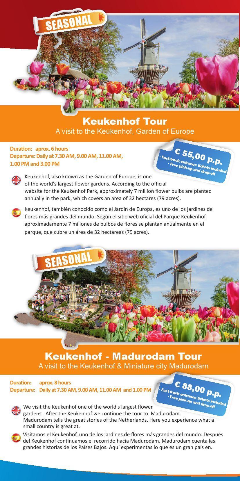 Brochure_Shoptour_Keukenhof Pages 1 - 2 - Text Version ... pour Jardin De Keukenhof